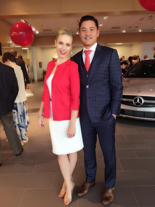 Carolyn and Eric